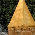 Gold saffron tent